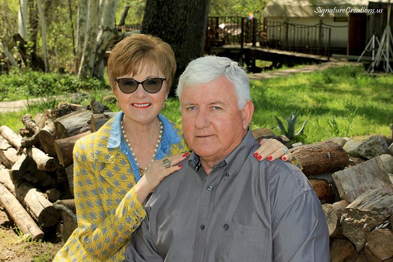 Sherill and Ron Calhoun